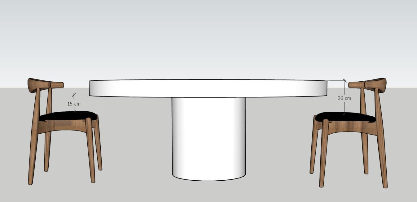 Jak dobrać wysokość stołu do krzeseł