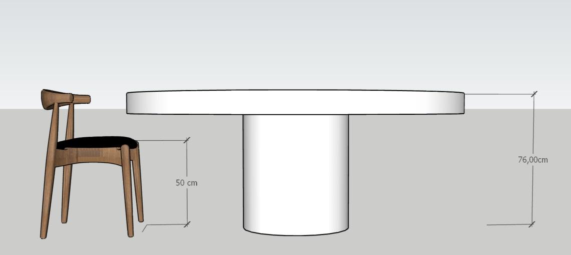 Jaka wysokość stołu do krzeseł