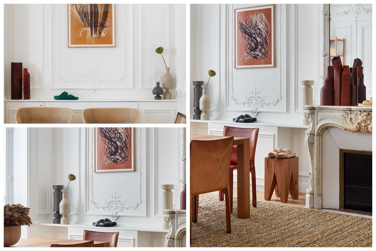 Dodatki i dekoracje w paryskim mieszkaniu