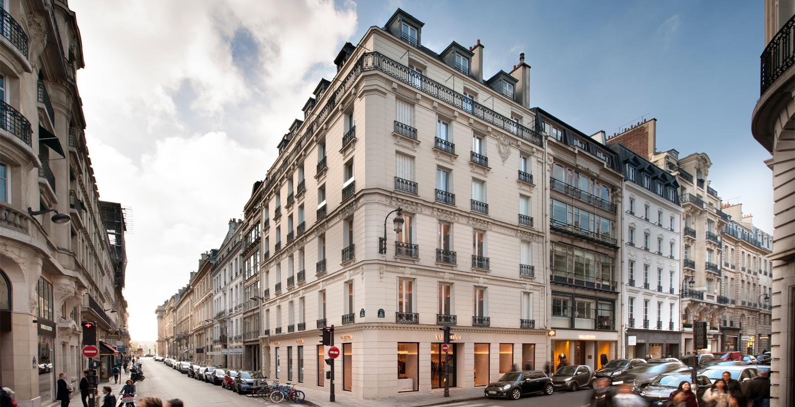 Ulica Saint Honoré w Paryżu